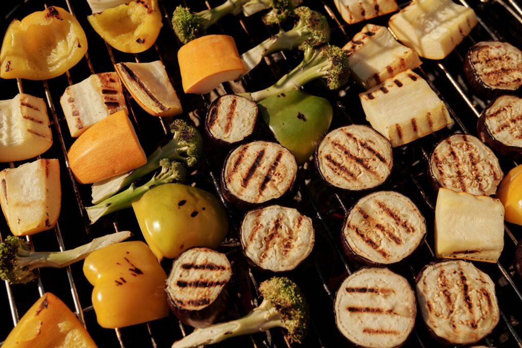 Courgettes grillées bbq